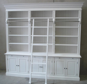 most popular french style library wood bookcase