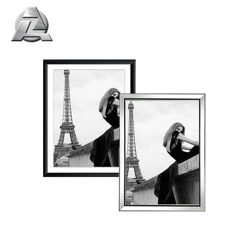 Album Company Brushed a0 a1 a2 a3 a4 size black brushed silver aluminum photo picture frames