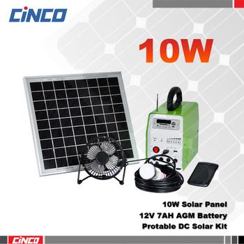 10w Solar Panel Led Light