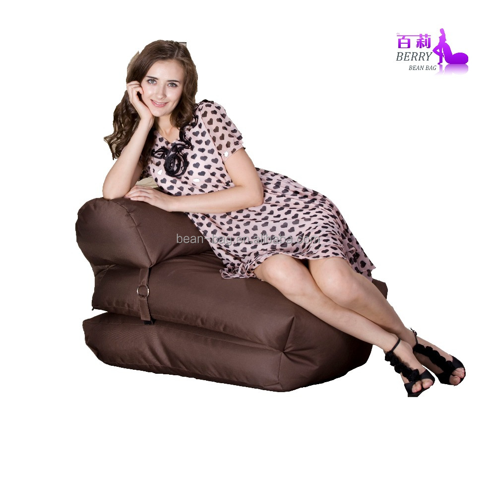 Soft Foldable Beanbag Sofa Bed Lounger Chair