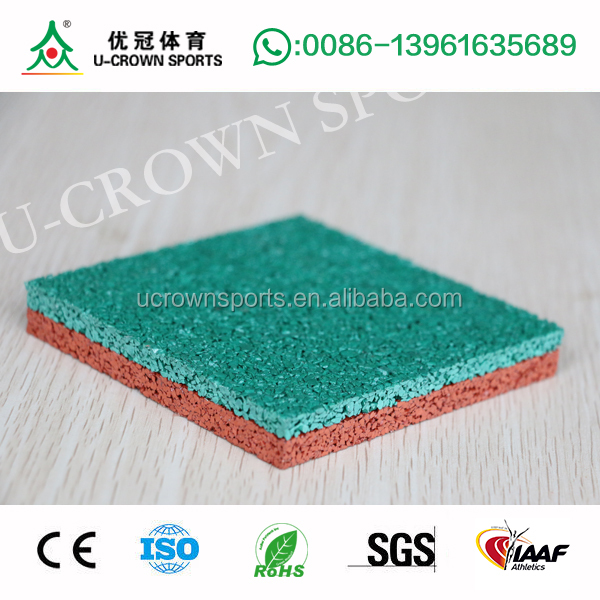 EPDM rubber granules for synthetic running tracks children playground Epdm sheet scrap