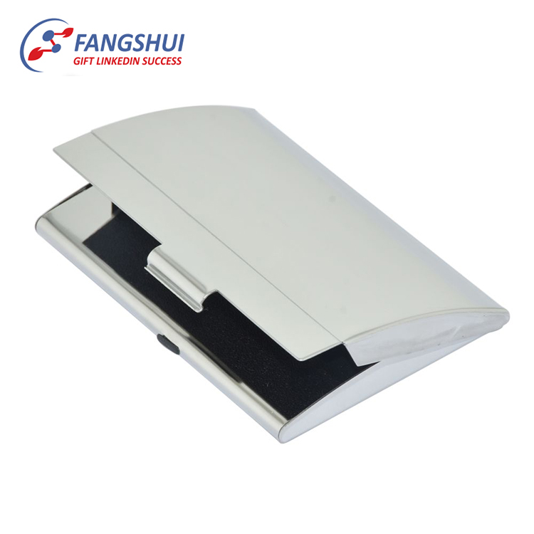 Sublimation Metal Business Card Holder Id Name Business Card Case ...