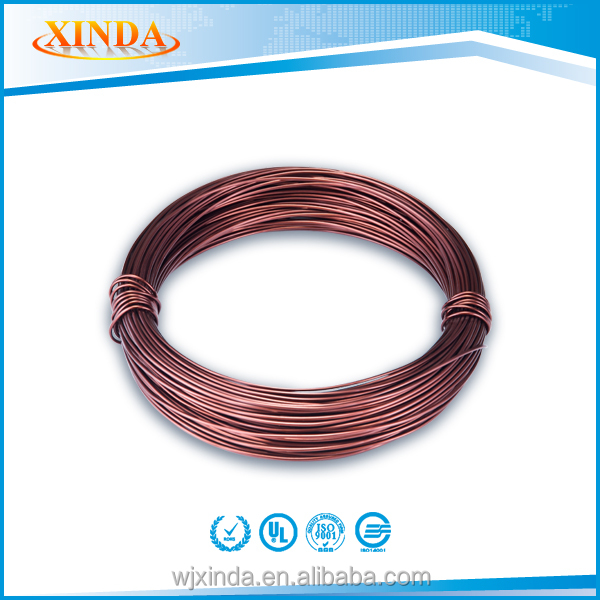Stable Quality Electric Coloured Aluminum Winding Wire Super Enameled Aluminium Wire