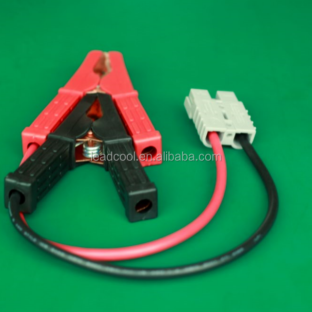 convenient type 50A power connector with upper clip of supply cord, Car supply battery power connectors for Anderson
