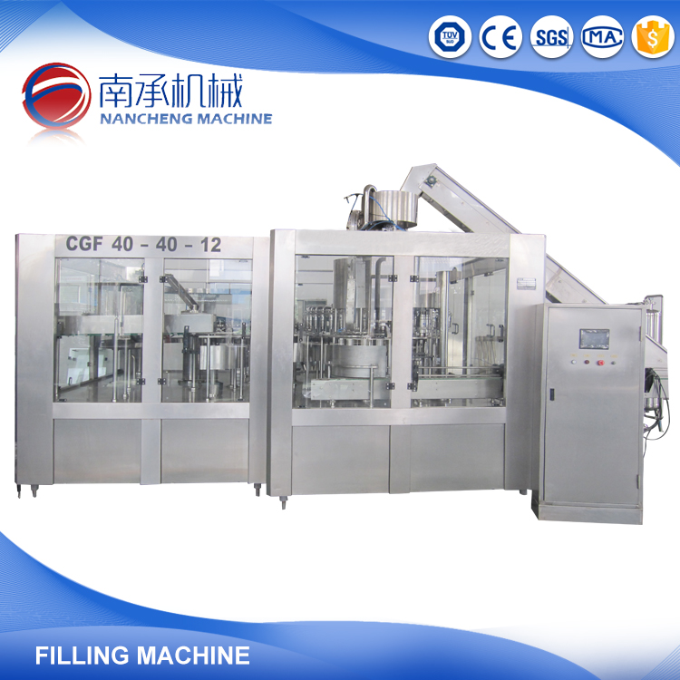 Juice Bottle Machine Filling Spray Cans for Beverage