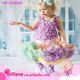 Fast Shipping Newest fashion baby pettidress super soft chiffon baby pettiskirts girls rainbow tutu pettiskirt