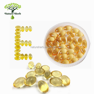 High Quality Pharmaceutical Grade Vitamin E Oil Softgel