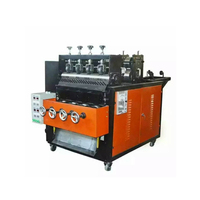 Hot new products stainless steel pan making machine for cleaning ball