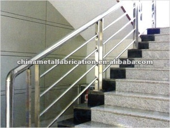 High Precision Outdoor Stainless Steel Stair Railing