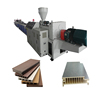 wood plastic machine / wpc floor making machine / wpc decking extrusion line