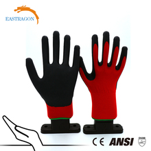 Wholesale Price Nylon Dipping Foam Nitrile Mechanical Work Gloves