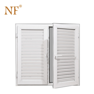 Aluminum glass louver blade window