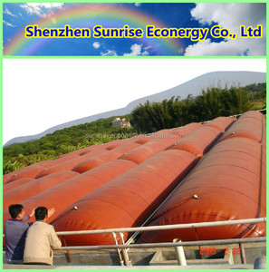 Hot sale durable inflatable PVC biogas plants in india biogas digester
