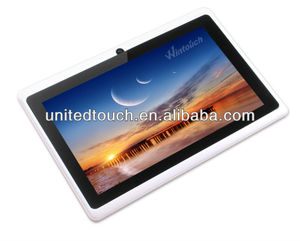 7inch wintouch tablet q75/q75s, Allwinner A33 A8 tablet PC cheapest tablet  made in china