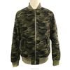 mens wear 2016 all over green camo jacket mens bomber jacket 100%cotton