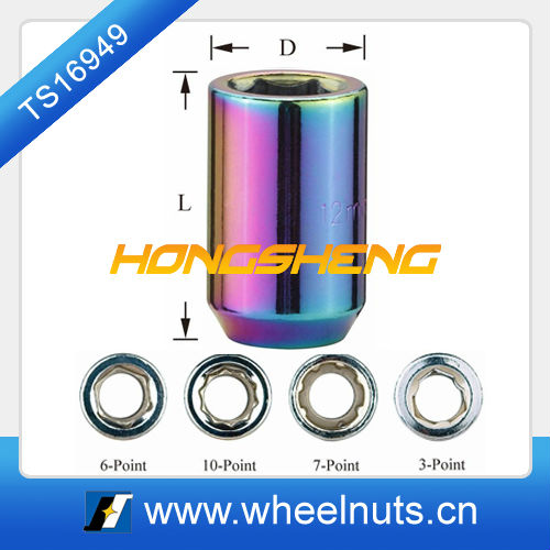 car wheel tuner lugnut