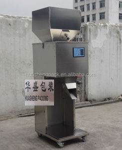 Ground coffee scale filling machine,coffee bean vibrating feed weigh filler