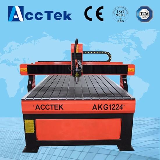 best selling on China Alibaba new cnc machine mdf screw machinery/cutting wood plastic pcb machine 1200*2400
