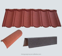 Eco-friendly roofing tile/stone coated steel roof tile/low cost building materials