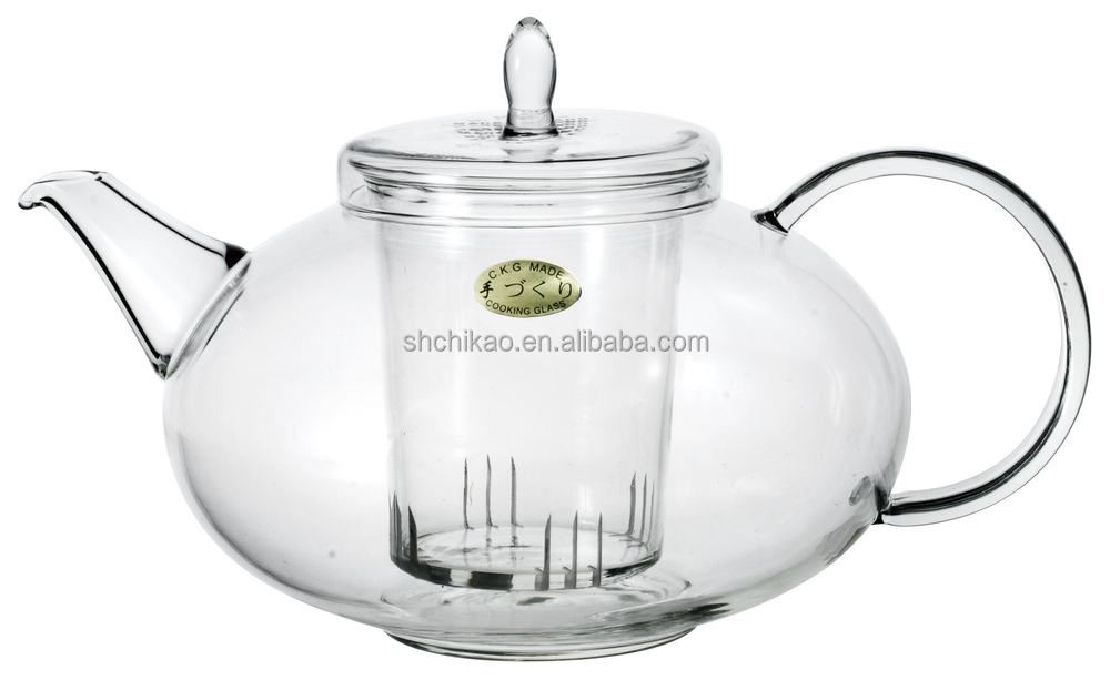 Mm Glass Teapot With Infuser