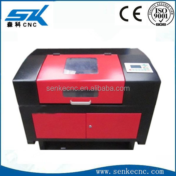 CO2 Laser etching / carving/ cutting machine SKL-6090 for crystal gifts PCB leather marble wood Acrylic Sign and Number