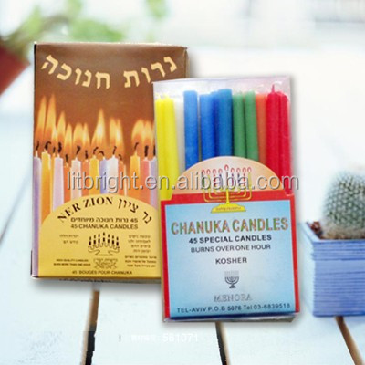 Hot sell in Israel market Chanuka candles/jewish candle