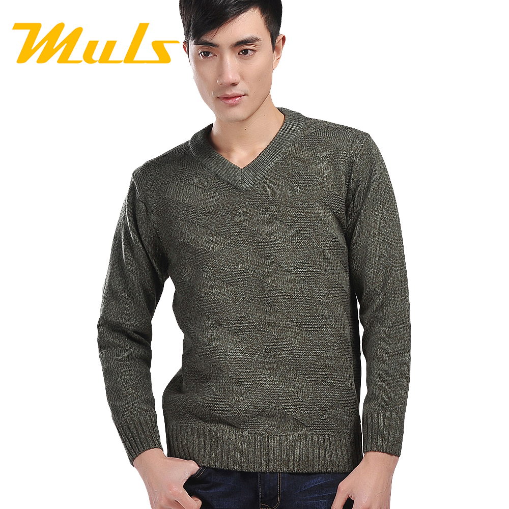 Men sweater brand cashmere V-neck Pullover polo jumper pull de marque sweaters agasalho masculino Soft winter thick vest Apparel