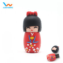 Japenese gift usb flash drive , doll usb flash drive for Japanese market, promotion gift usb flash drive for girls