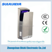 bathroom appliances stainless steel jet air hand dryer