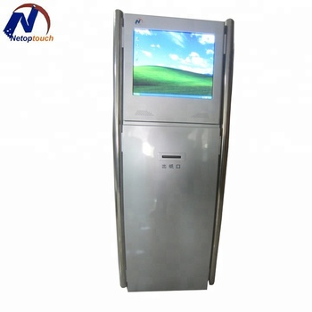 Touch Screen LCD Kiosk For Factory