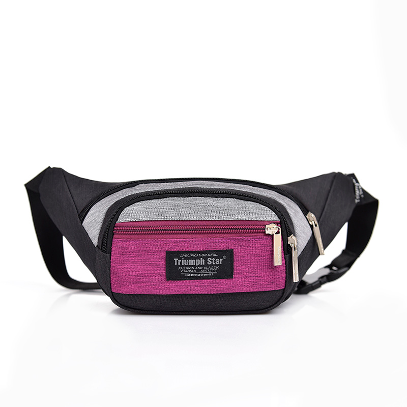 Promotion wholesale high quality mesh fashion sports waist bag men