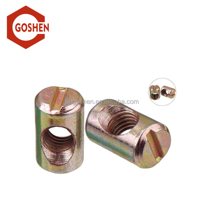 china high quality zinc plated m3 barrel nut