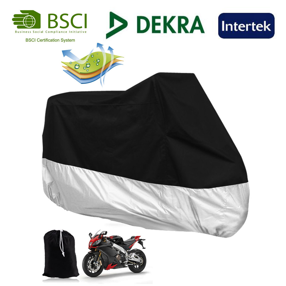 Heavy Duty and lightweight polyester fabric inflatable motorcycle cover