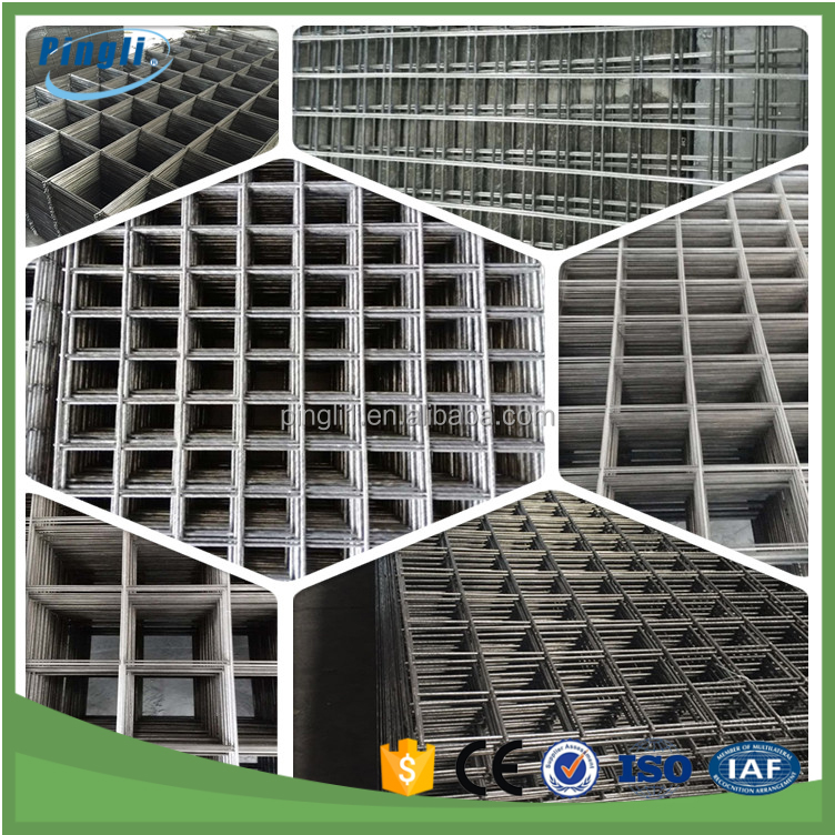 Flat Square Heavy Gauge 2x2 Galvanized Welded Wire Mesh Panel