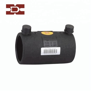 Equal welding HDPE fittings electrofusion coupler