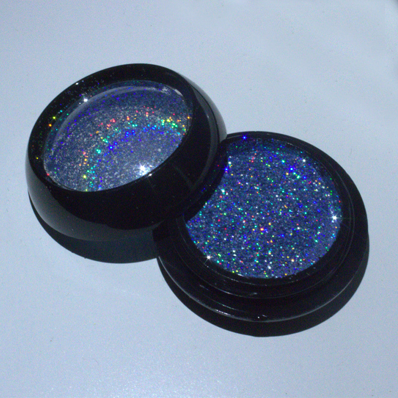2020 New Water-based Solvent Resistant Holographic glitter for Nail Polish