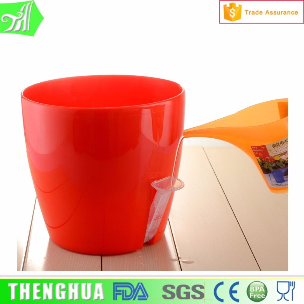 Plastic Plant Pots Part - 29: Plastic Flower Pot Outdoor Large Plant Pots Round Garden Pot - Buy Pot,Plastic  Flower Pot,Plastic Pots For Plants Product On Alibaba.com