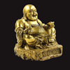 High Quality Cast Bronze Laughing Big Buddha Statue