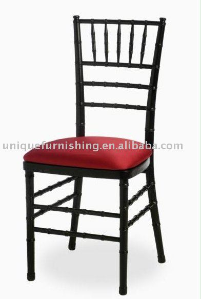China Black Wood Sale Wedding Chiavari Chair