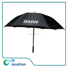 30 inch air vented golf famous brand umbrella wtih reflective logo print