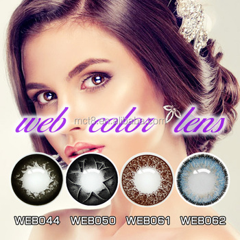 soft yearly fashion sparkle contact lenses wholesale safety colored