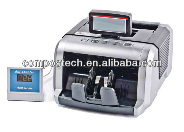Money Counter & bill counter with UV+MG detection Cash Counting Machine-N71
