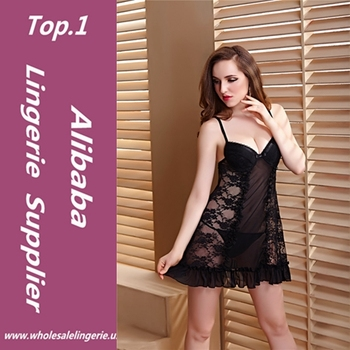 Girls Lingerie Babydoll transparent nighty high quality sexy nighty for  honeymoon fc03d8574