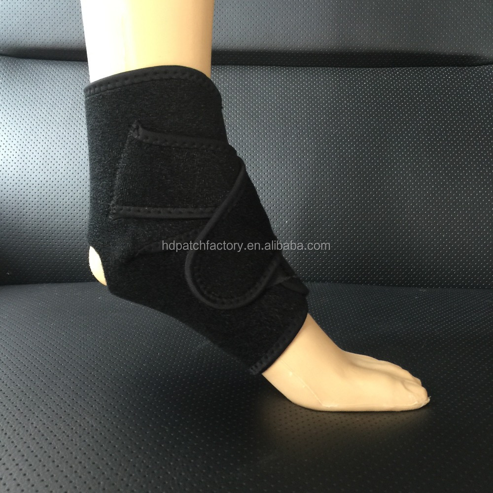 Training Sports protective neoprene gel lace ankle support