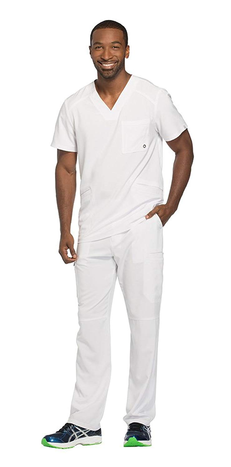 61ee0a3e338 Get Quotations · Cherokee Infinity by Men's V-Neck Scrub Top CK900A & Cargo  Scrub Pant CK200A Medical