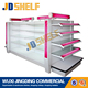 Base price supermarket wire mesh display gondola shelf