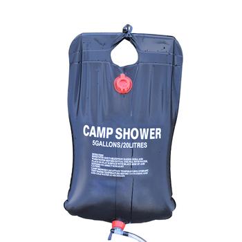 Extraíble Y On Buy Cabeza Bolsa Camping Off Playa Para De Ducha Solar Viajar Conmutable Con Manguera Campamento 54c3qARjL