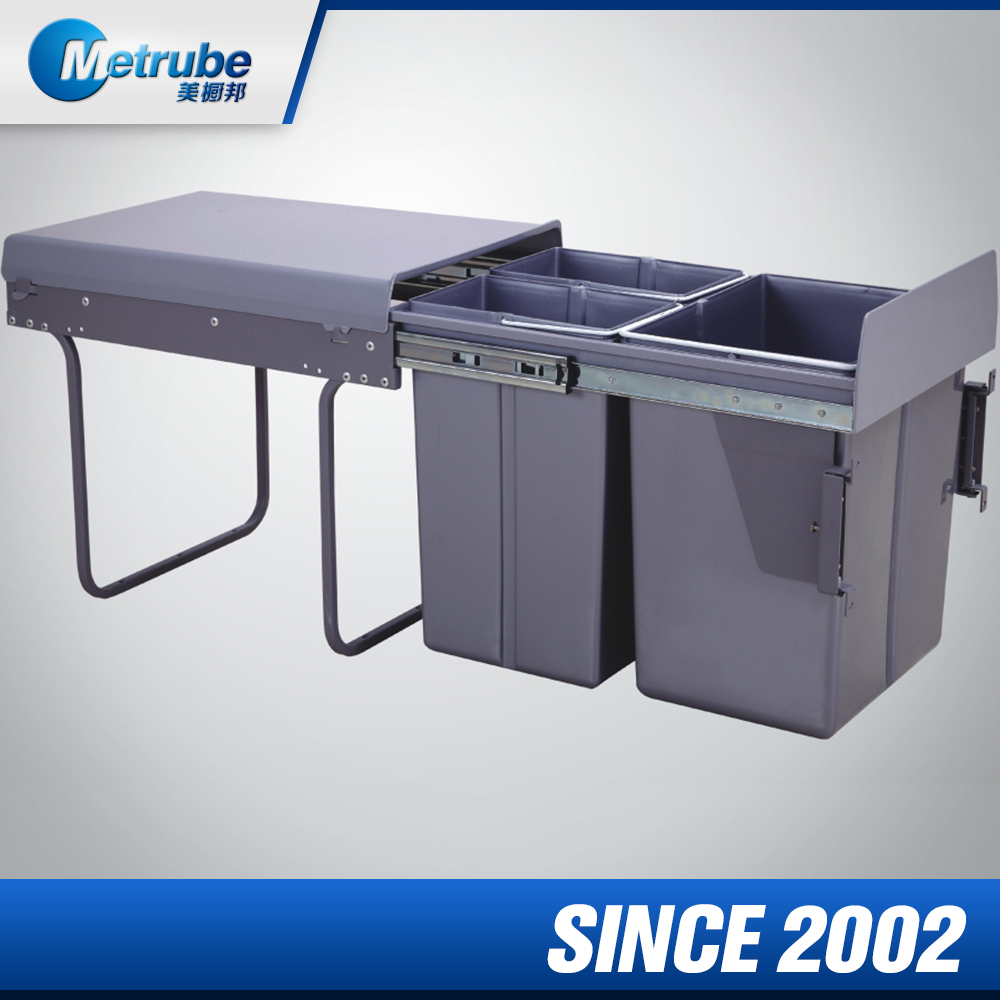 On Promotion 3 Compartements For Sales Waste Bin Recycling