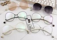 Sunglasses 2017 fashion simple style fresh pastoral polarized sunglasses