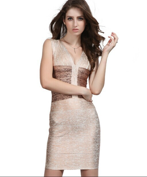 5ffe59c80dbf1 Cheap Gold Foil Bandage Dress, find Gold Foil Bandage Dress deals on ...